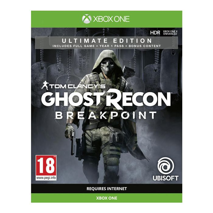 Tom ClancyÕs Ghost Recon Breakpoint Ultimate Edition Xbox One *Buy and get FREE DLC!