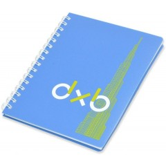 FIS FSNBSA5PPBL Executive Spiral PP Soft Cover Notebook - A5, 80gsm, Blue