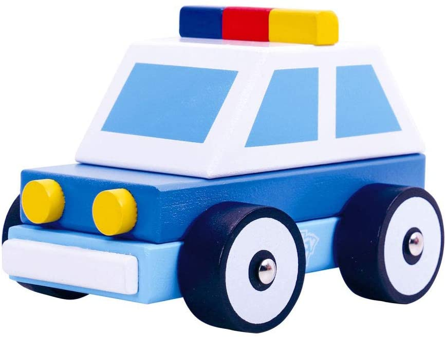 Toy Police Car (Wood)