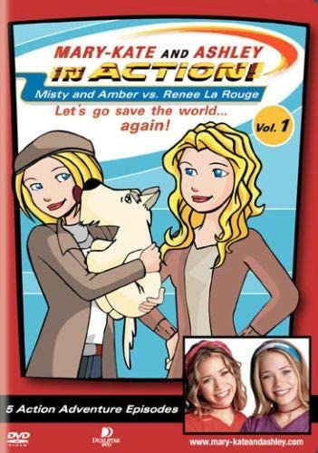 Olsen Twins Mary Kate and Ashley in Action Volume 1