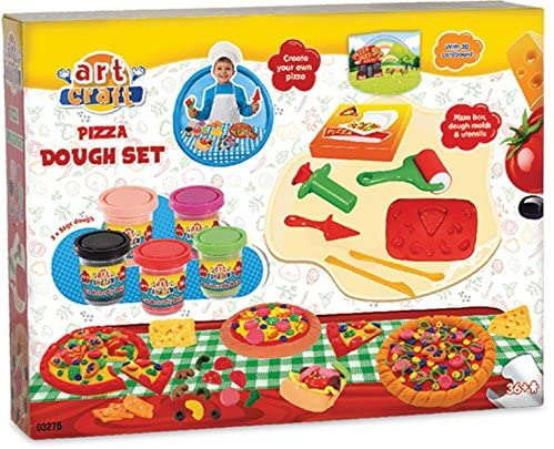 ART CRAFT PIZZA DOUGH SET
