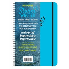 "Onyx + Green 6722 Storm Writer Spiral Notebook - 60 Ruled Sheets, 6"" x 7"""