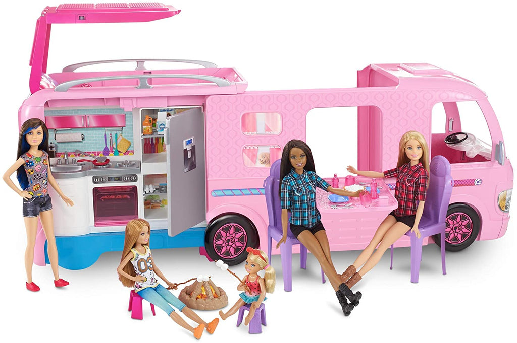 Barbie Pop-up Camper (Colors and Decorations May Vary)