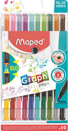 20-Piece Graph Peps Duo Pen Set