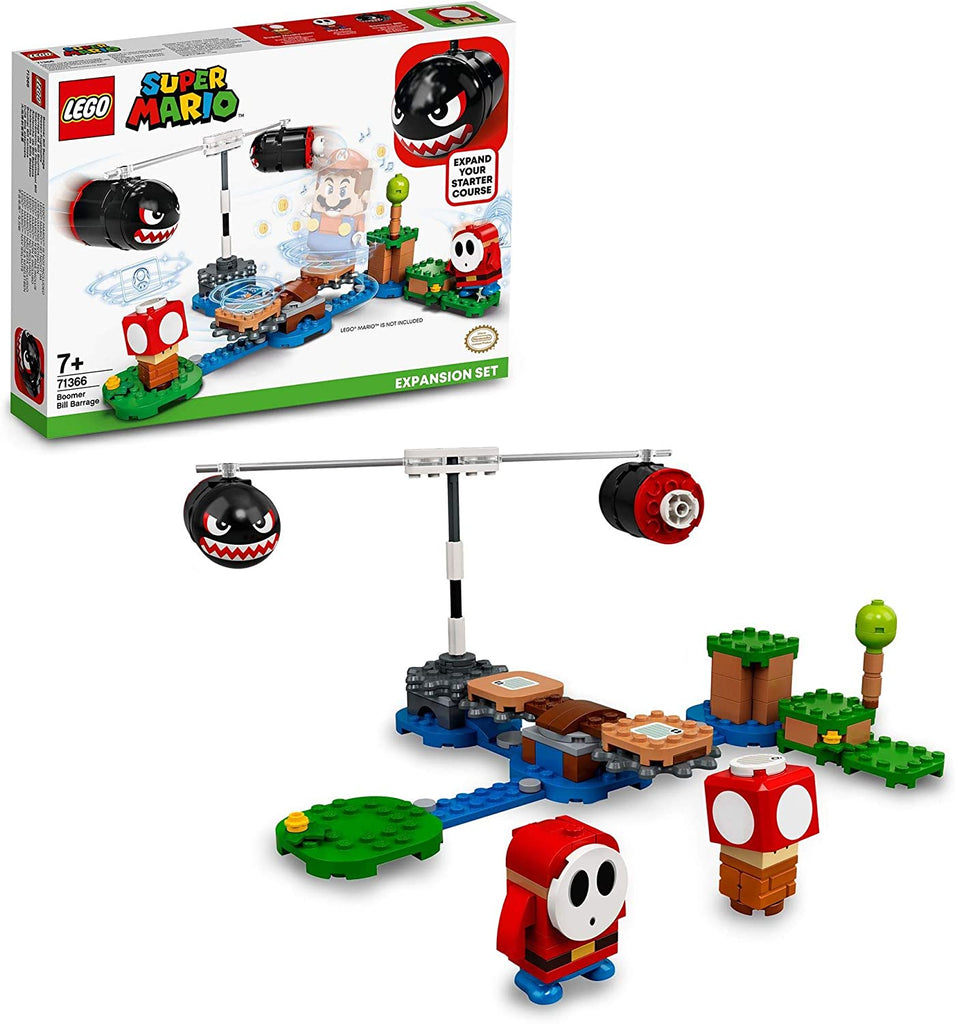 LEGO Super Mario Boomer Bill Barrage Expansion Set Buildable Game