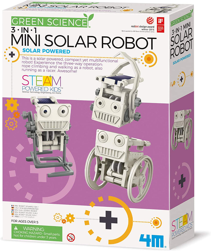 Eco Engineering 3-in-1 Mini Solar Robot Kit
