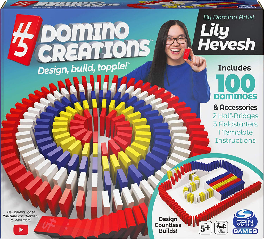 Lily Hevesh H5 Domino Creations