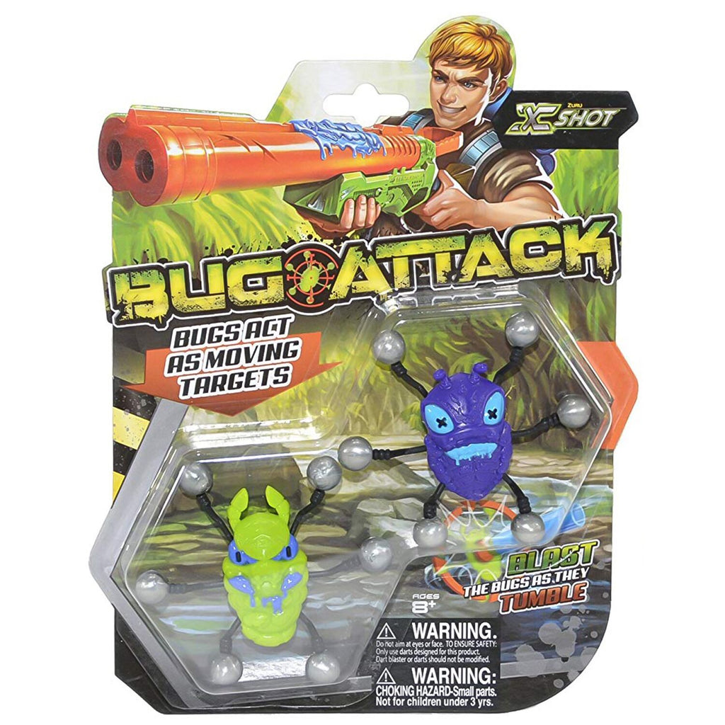 X-Shot Bug Attack Target Bugs (Pack of 2, Styles May Vary)