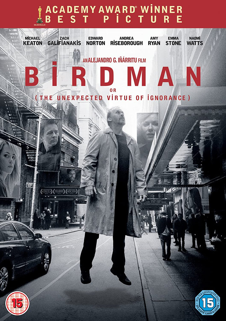 Birdman Or The Unexpected Virtue Of Ignorance DVD