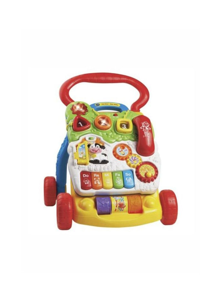 First Step Baby Walker Push And Pull Toy