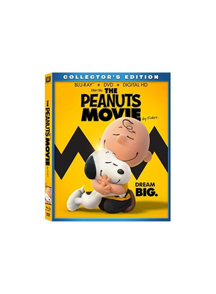 The Peanuts Movie Blu-ray
