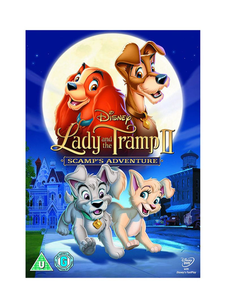 Lady and the Tramp II - Scamp's Adventure DVD