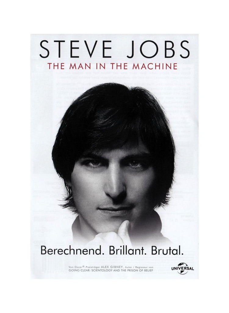Steve Jobs-The Man In The Machine DVD