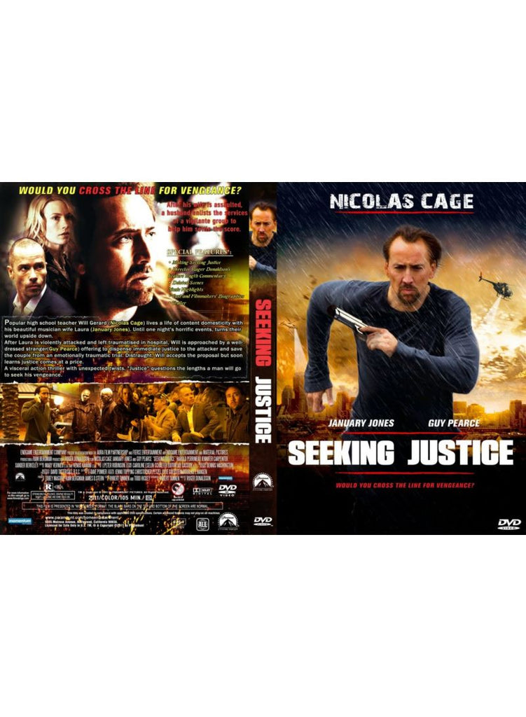 Seeking Justice DVD