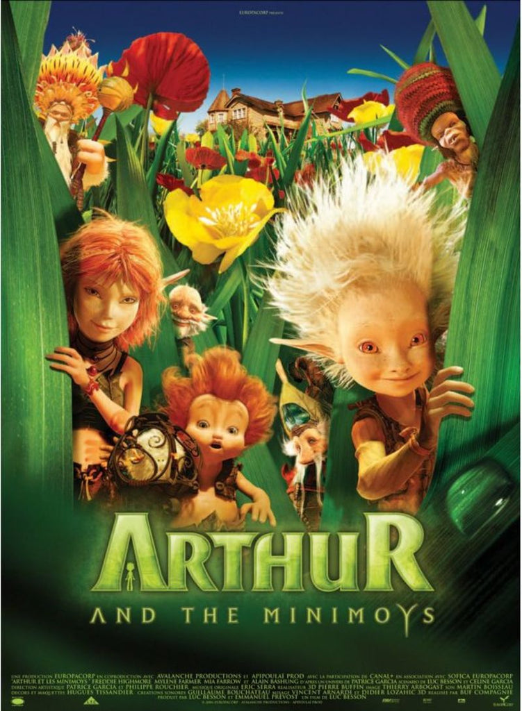 Arthur And The Minimoys DVD