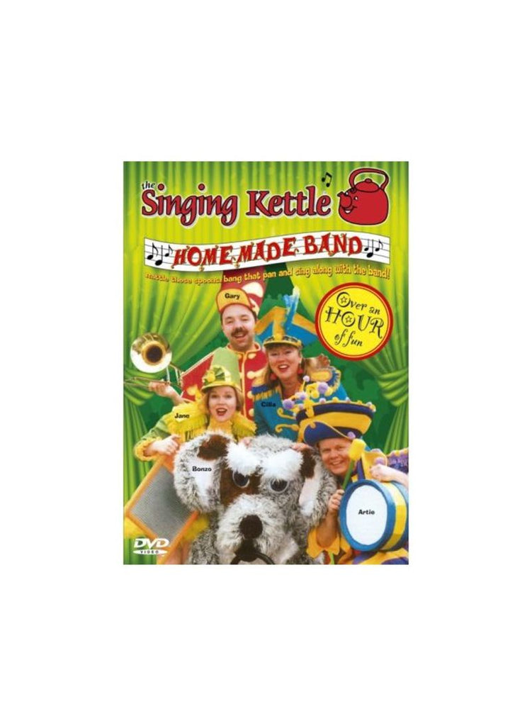 Singing Kettle - Homemade Band DVD