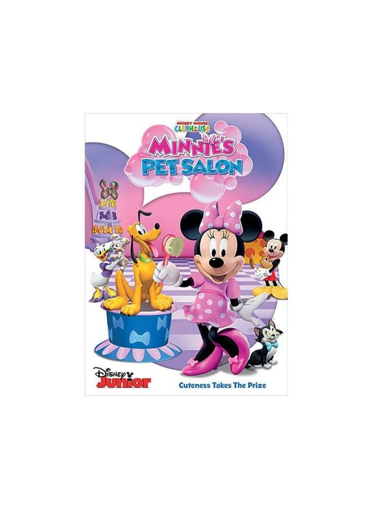 Mickey Mouse Clubhouse- Minnie's Pet Salon DVD