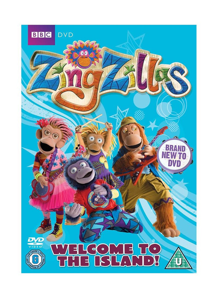Zingzillas - Welcome To The Island DVD