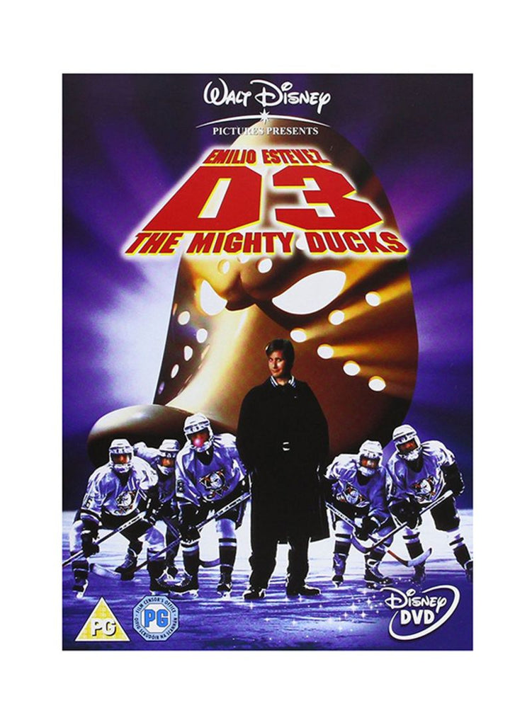 D3 The Mighty Ducks DVD