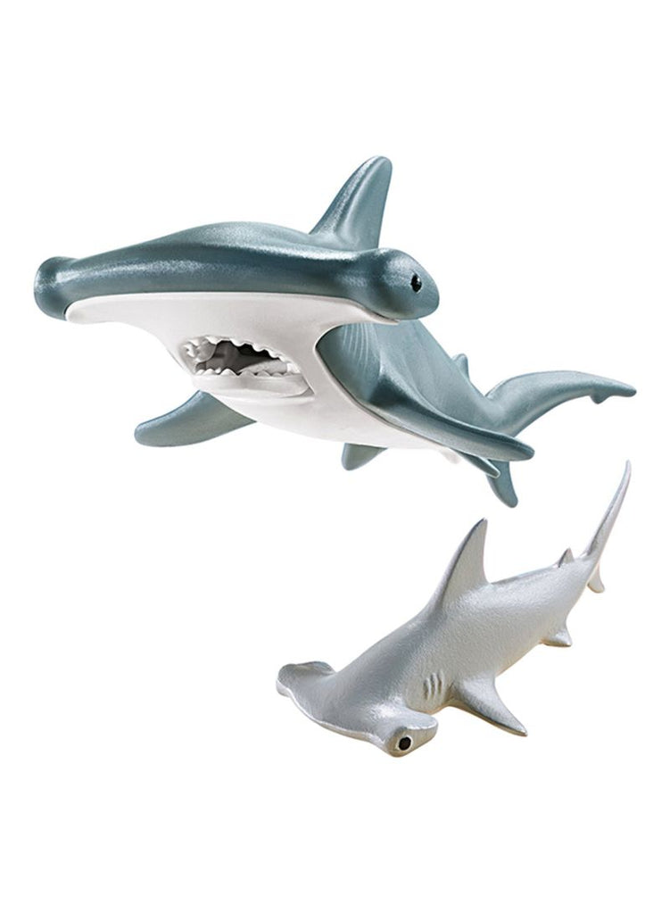 Hammerhead Shark With Baby 9065