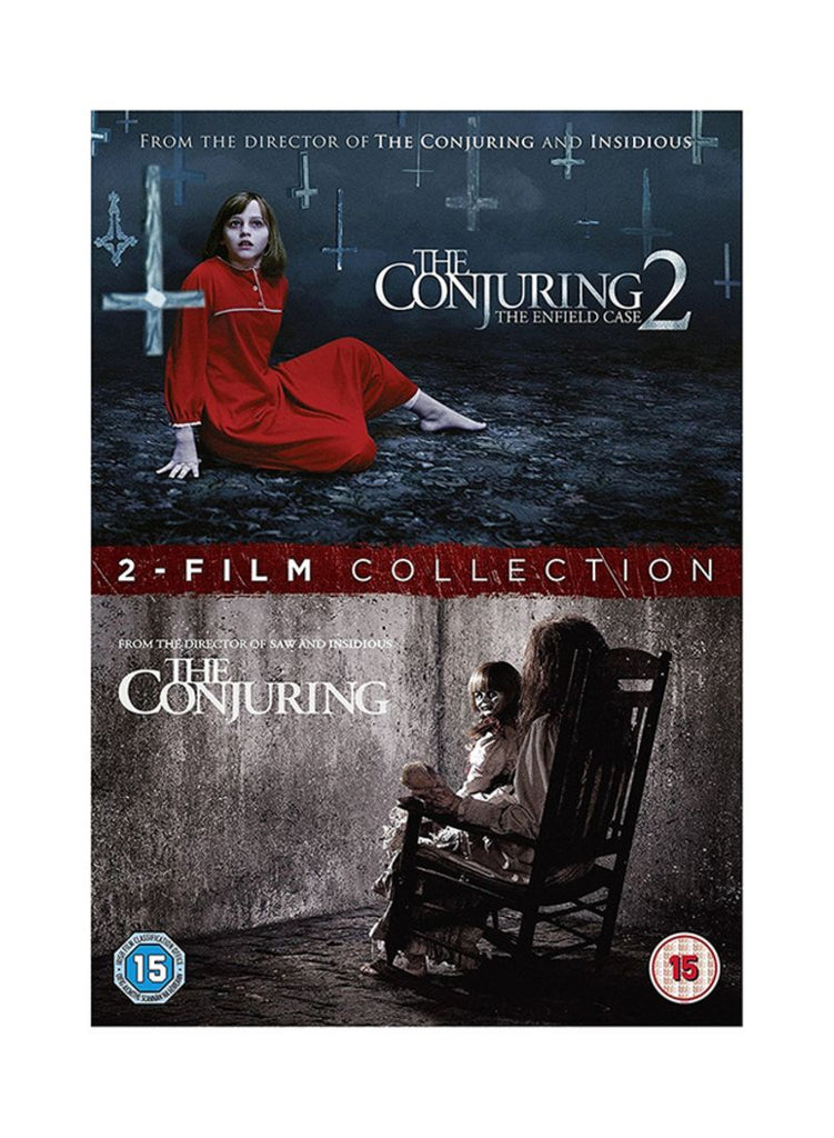 The Conjuring 1-2 DVD