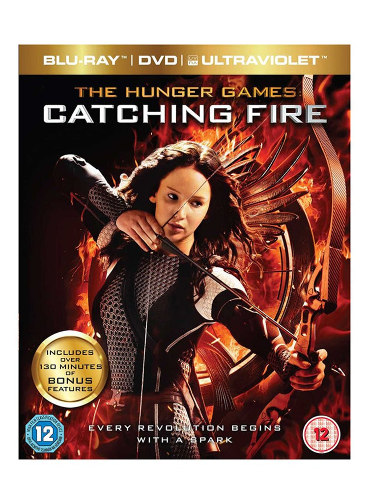 The Hunger Games:Catching Fire Blu-ray