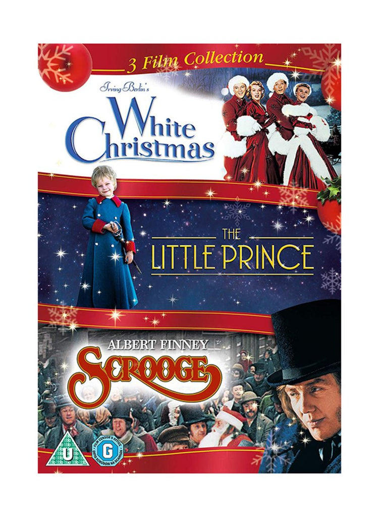 3 Film Collection - White Christmas/ Little Prince/ Scrooge DVD