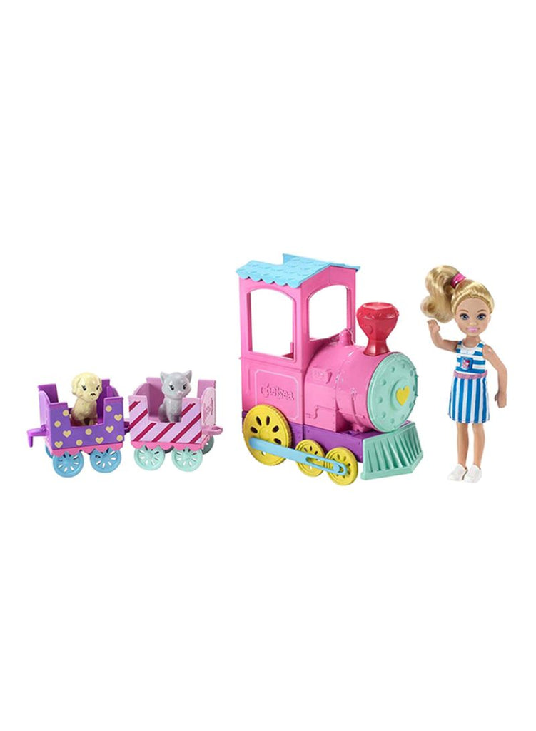 Club Chelsea Doll And Choo-Choo Train Playset