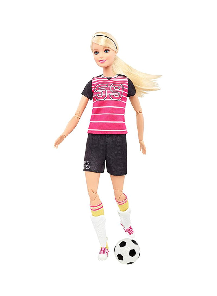 Made To Move Soccer Player Doll Assorted