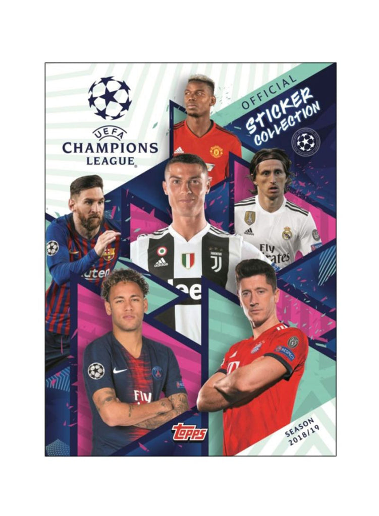 UEFA Champions League: Official Sticker Collection (Season 2018/19)