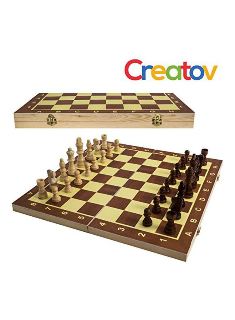 Classic Wooden Chess Board Set