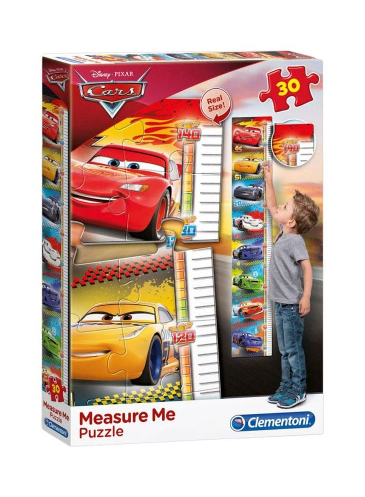 30-Piece Disney Cars Measure Me Puzzle Set