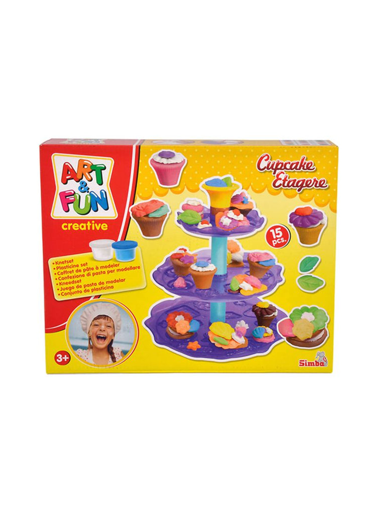 15-Piece Art And Fun Cupcake Etagere Craft Kit