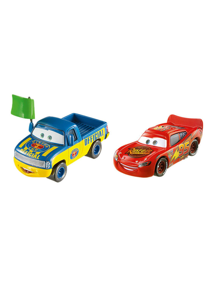 Pack Of 2 Lightning McQueen And Dexter Hoover 2 x 9 x 7inch