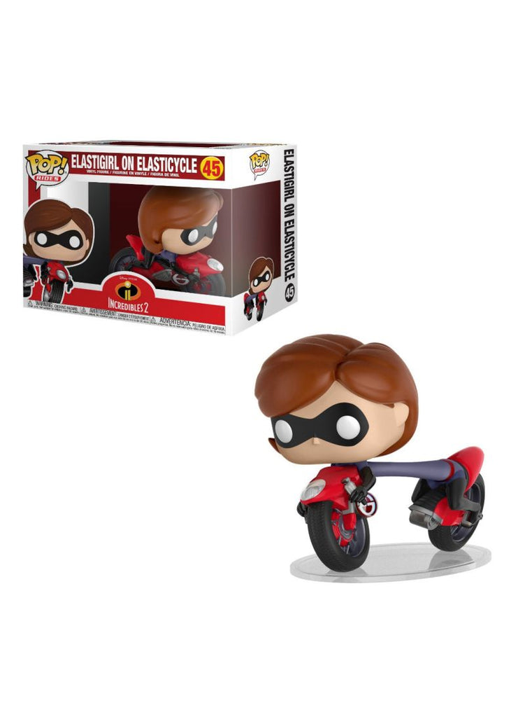 Pop Ride Elastigirl On Elasticycle Figure 8 x 5inch