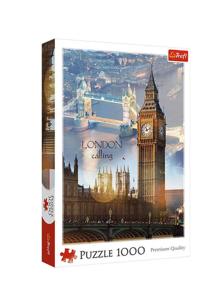1000-Piece London At Dawn Puzzle 40x27x6centimeter