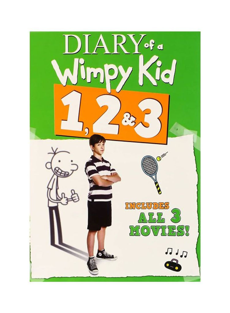 20th Century fox Pack Of 3 Diary Of A Wimpy Kid 1, 2 And 3 PartS DVD