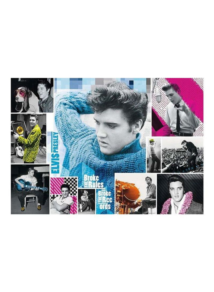1000-Piece Elvis Presley Forever Young Jigsaw Puzzle