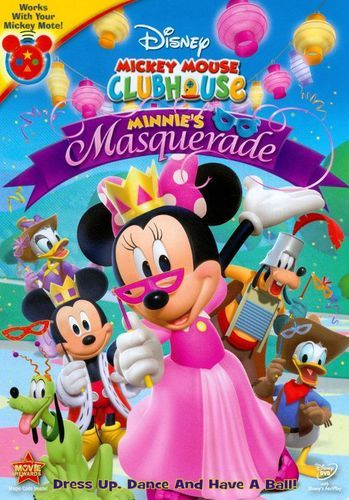 Disney Junior Mickey Mouse Clubhouse Minnie's Masquerade: Dress Up, Dance and have a Ball Dvd