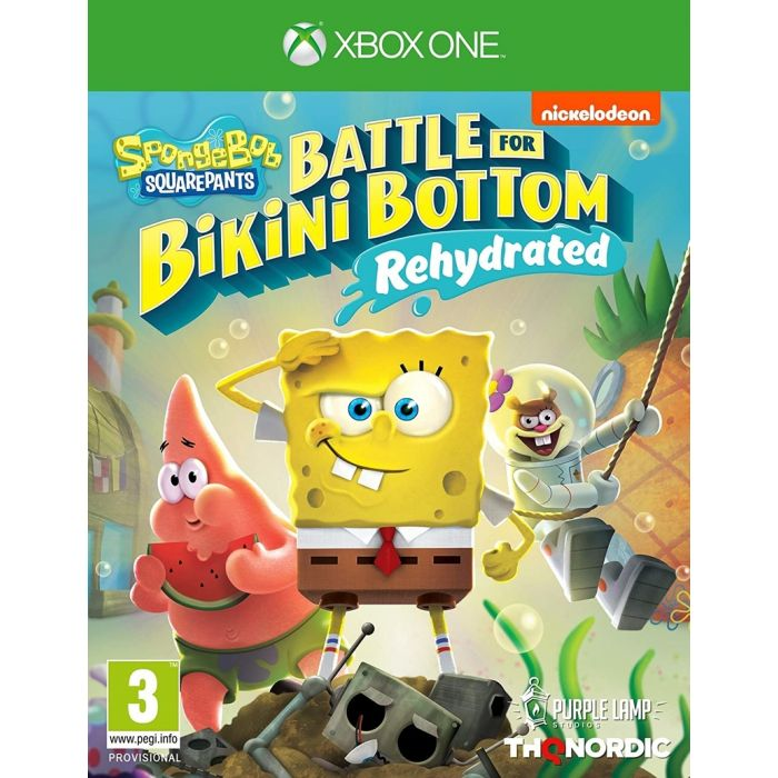Spongebob SquarePants: Battle for Bikini Bottom Rehydrated Xbox One