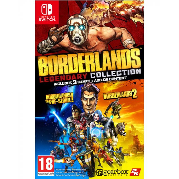 Borderlands Legendary Collection Switch (PAL)