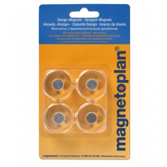 Magnetoplan COP 1680030 Innovative Design Magnet - 30 x 15 mm (Pack of 4)