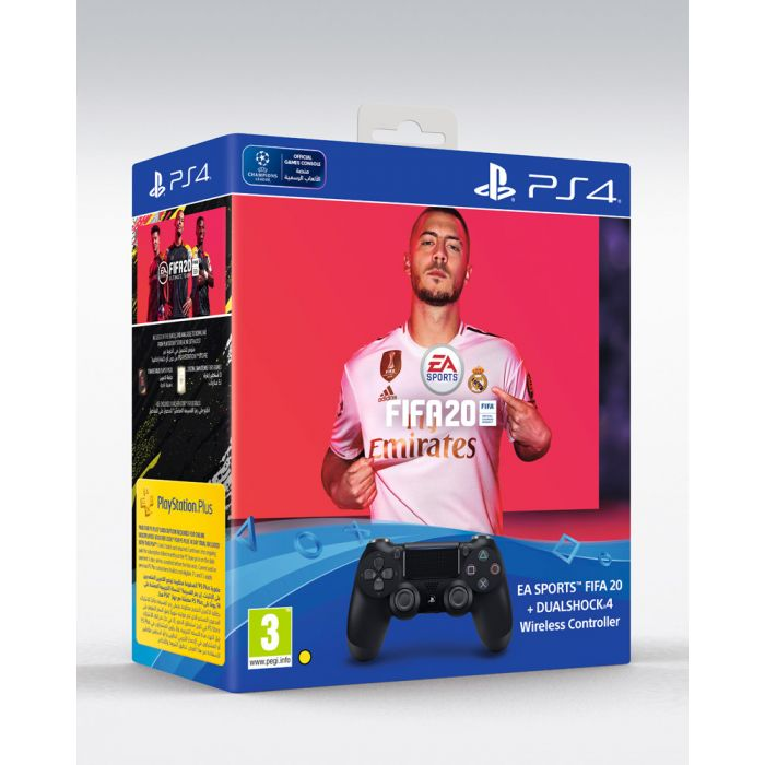 FIFA 20 with Dualshock 4 Controller PS4