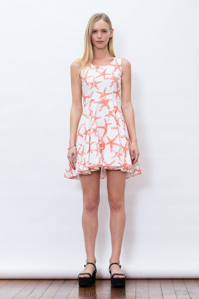 Hamptons Coral Dress