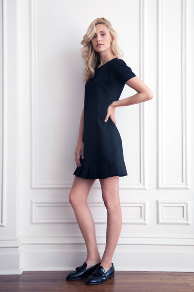 T-shirt Black Dress