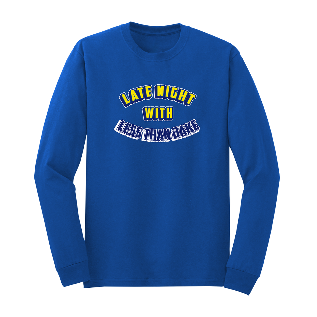 Less Than Jake - Livestream + Late Night Long Sleeve