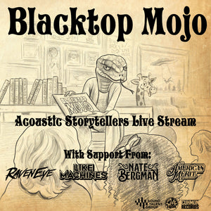 Blacktop Mojo - Livestream & CD Bundle