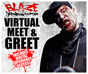 Blaze - Livestream + Virtual Meet & Greet