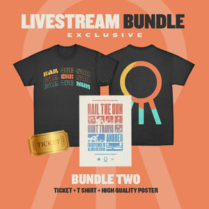 Hail The Sun - Livestream, T-Shirt + Poster Bundle
