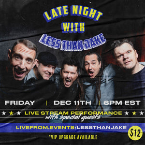 Less Than Jake - Livestream